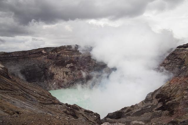 阿蘇山 カルデラ噴火