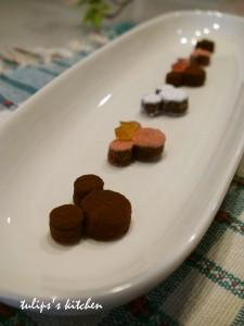 スライス生チョコレート アレンジレシピ