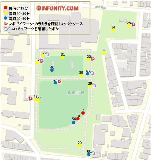 大阪 真田山公園 ポケソース