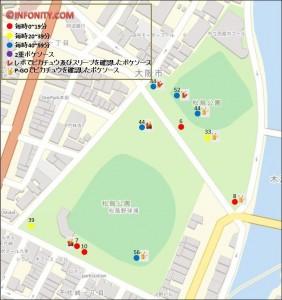 松島公園 ポケソース 位置