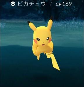 ポケモンGO ピカチュウ かわいい(2)