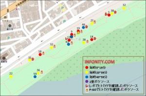 ヒトカゲの巣 淀川河川公園 ポケソース